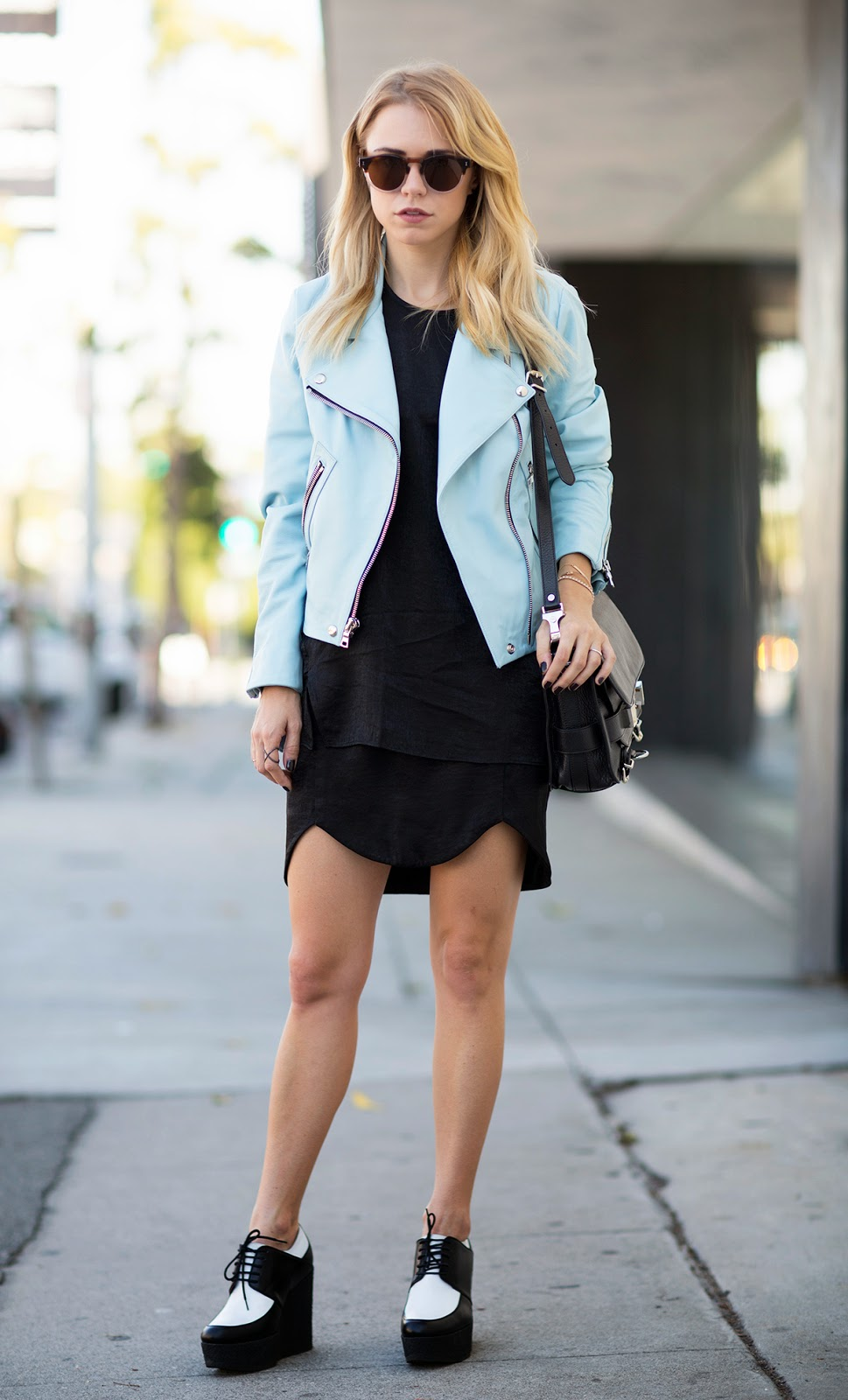 Street Style Black&White Shoes