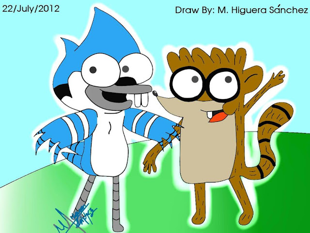 Mordecai and Rigby Children por FanChaosLevel3