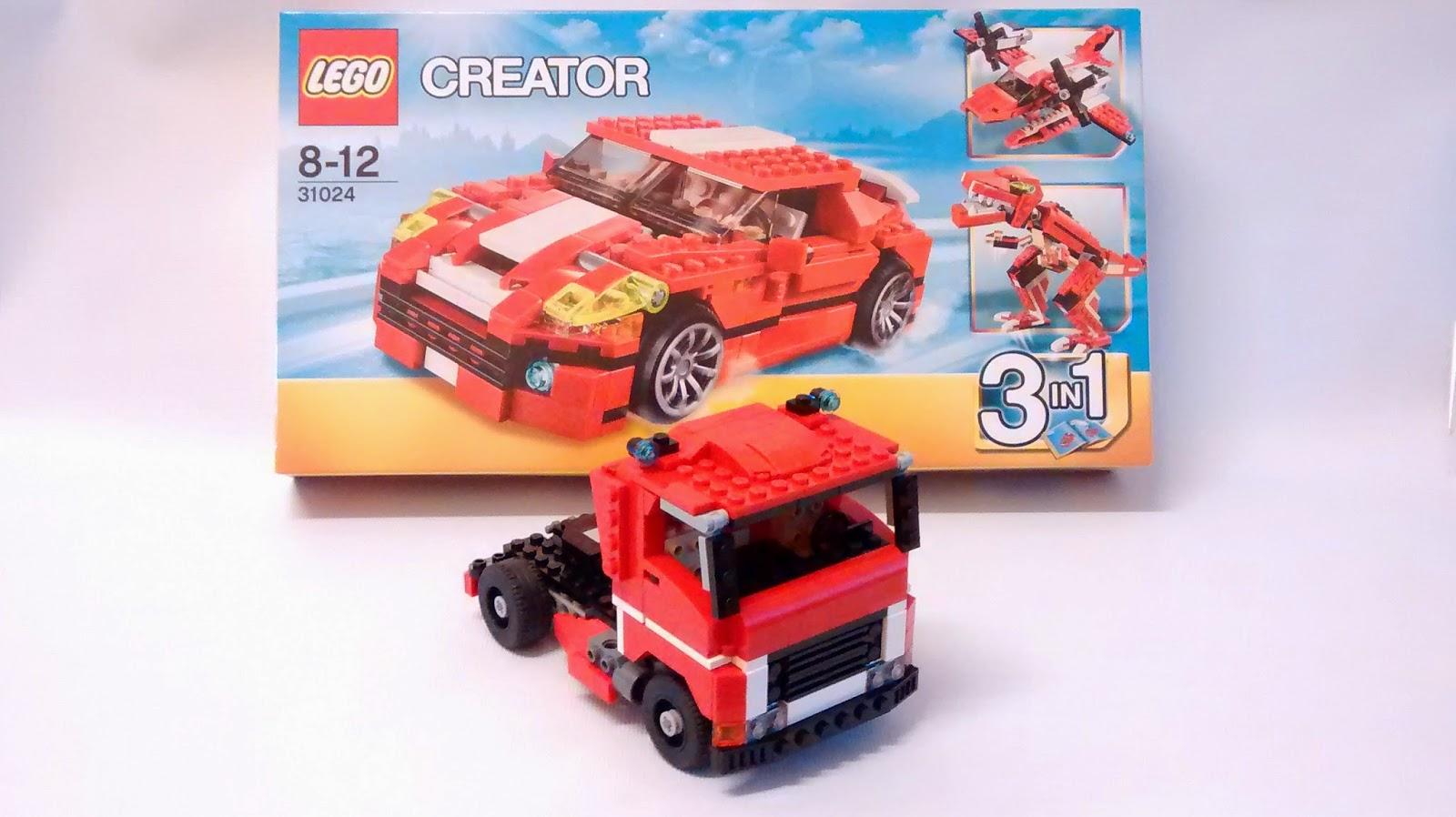 Yoshinys Design Lego Truck 31024 Alternate Build