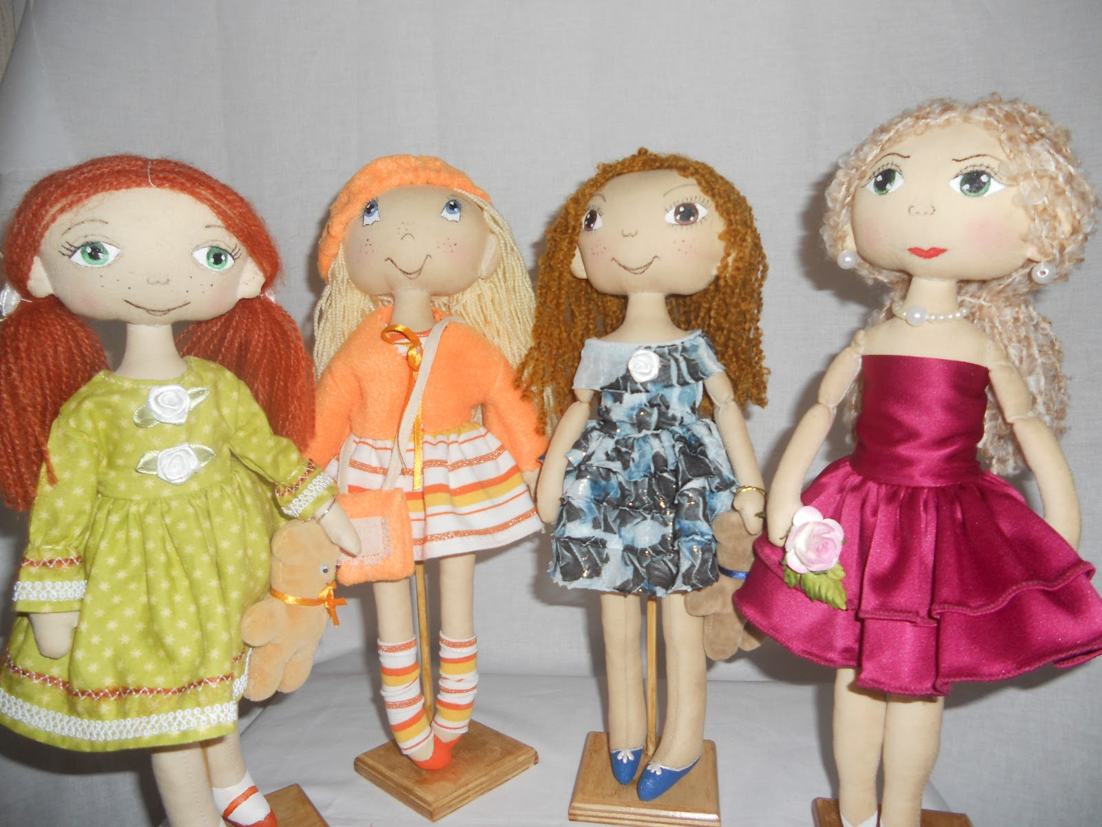 Каркасная кукла своими руками 74
