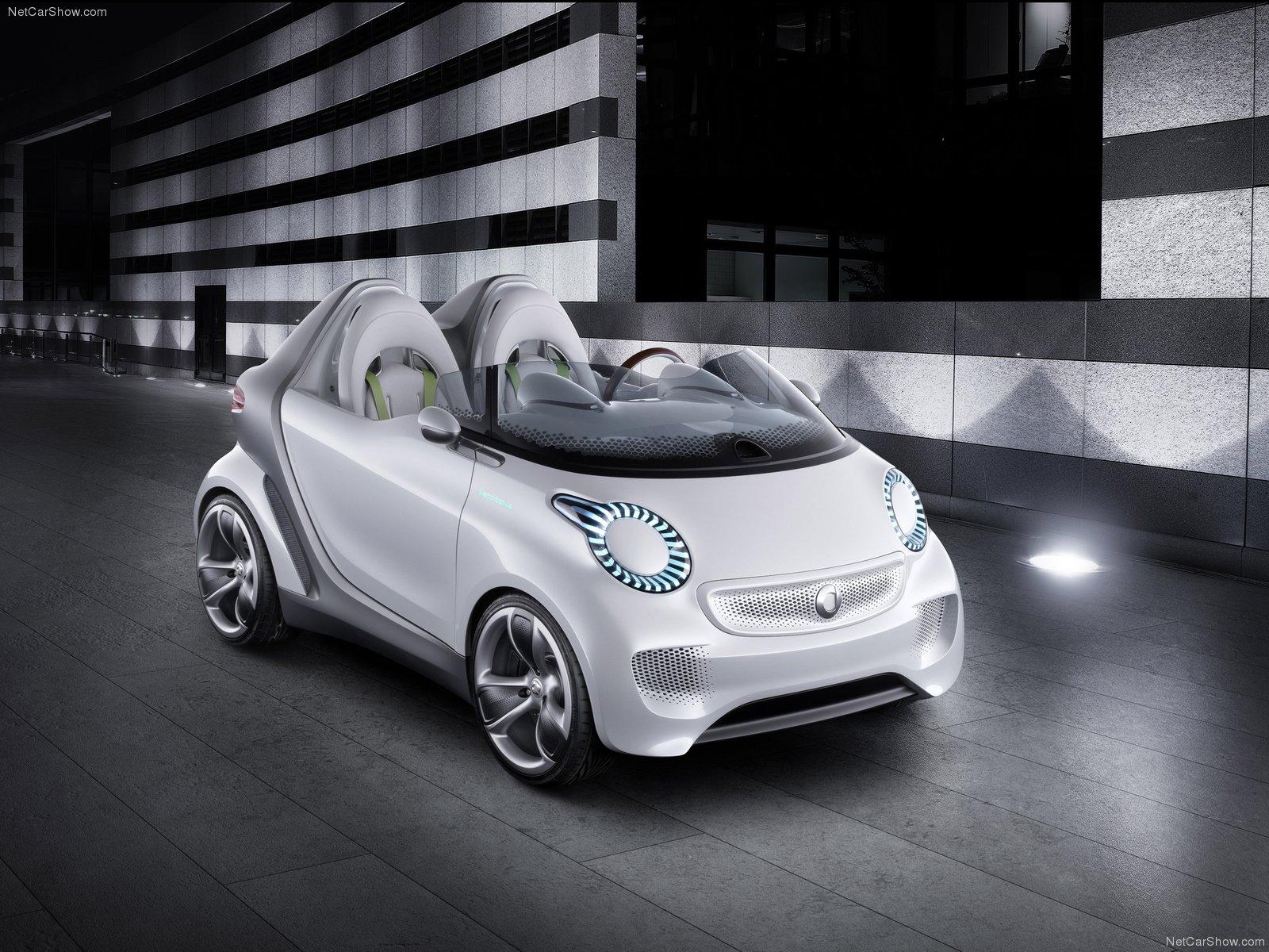 Hình ảnh xe ô tô Smart forspeed Concept 2011 & nội ngoại thất