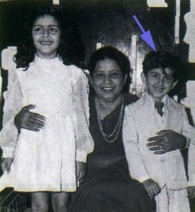Hrithik Roshan Childhood Pictures