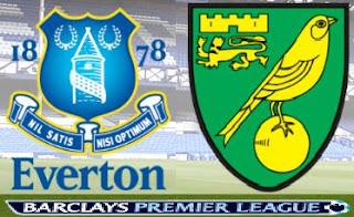 Prediksi Skor Everton VS Norwich City 24 November 2012 - Liga Inggris