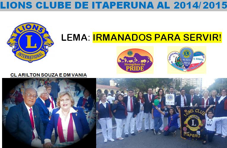 LIONS CLUBE DE ITAPERUNA - RJ  /  LC 11