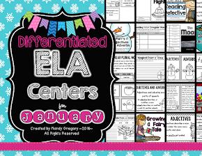 Monthly ELA Centers!