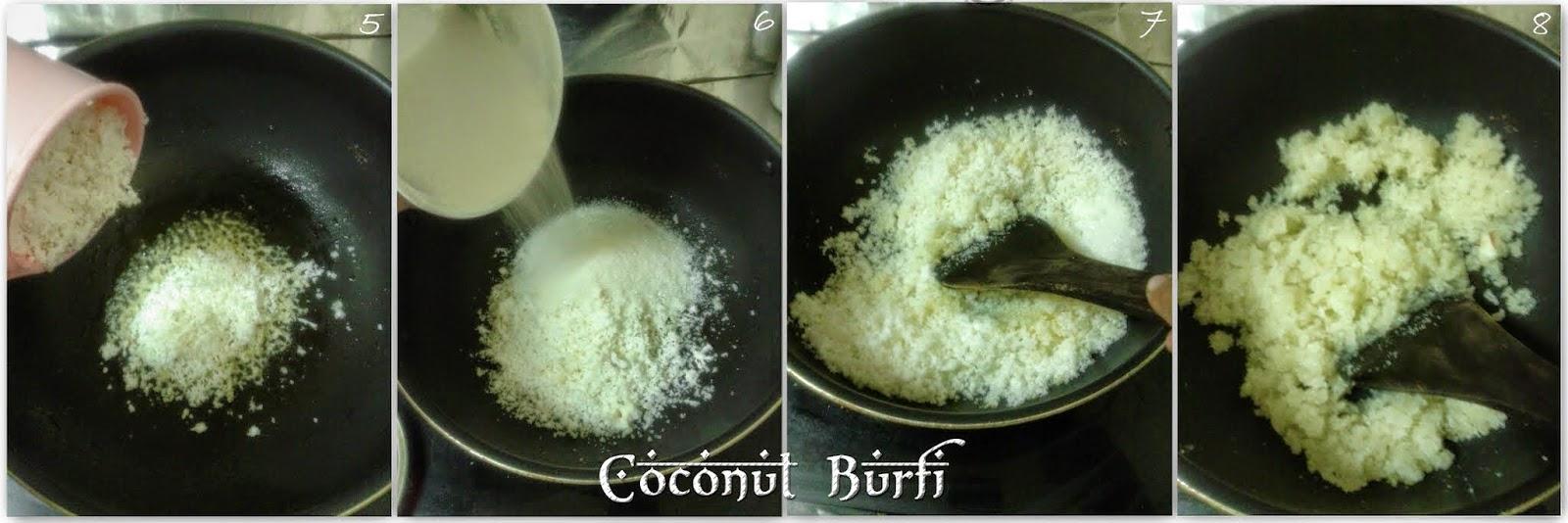 instant-coconut-burfi-thengai-mittai