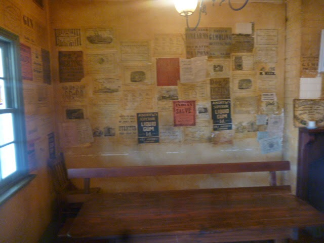 Pub notice board