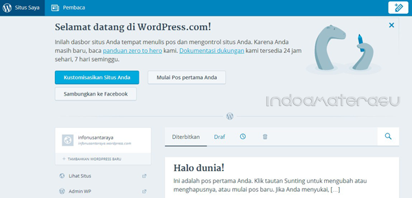 Cara Mudah Membuat Blog Wordpress.Com 7