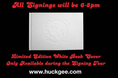 Huck Gee&#8217;s &#8220;The Art of Huck Gee&#8221; Book Tour Schedule