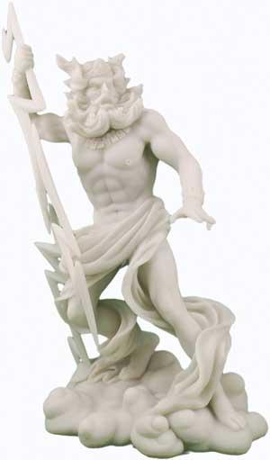 Zeus Greek God Statue