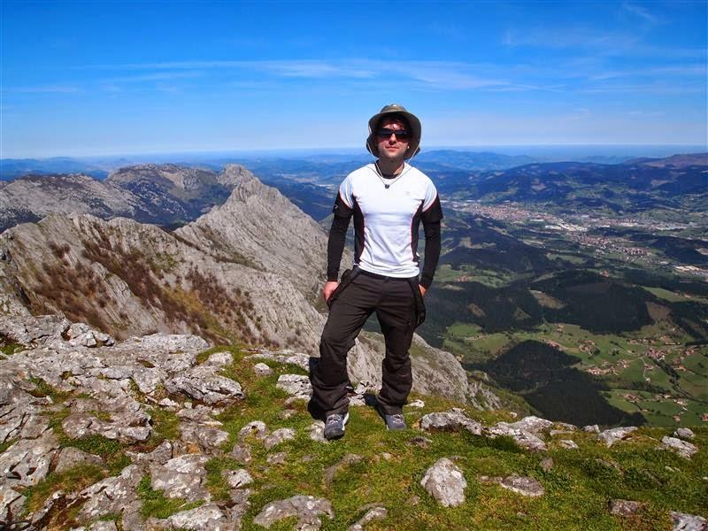 Valle de Atxondo desde el Amboto