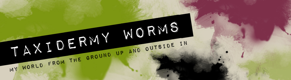 Taxidermy Worms
