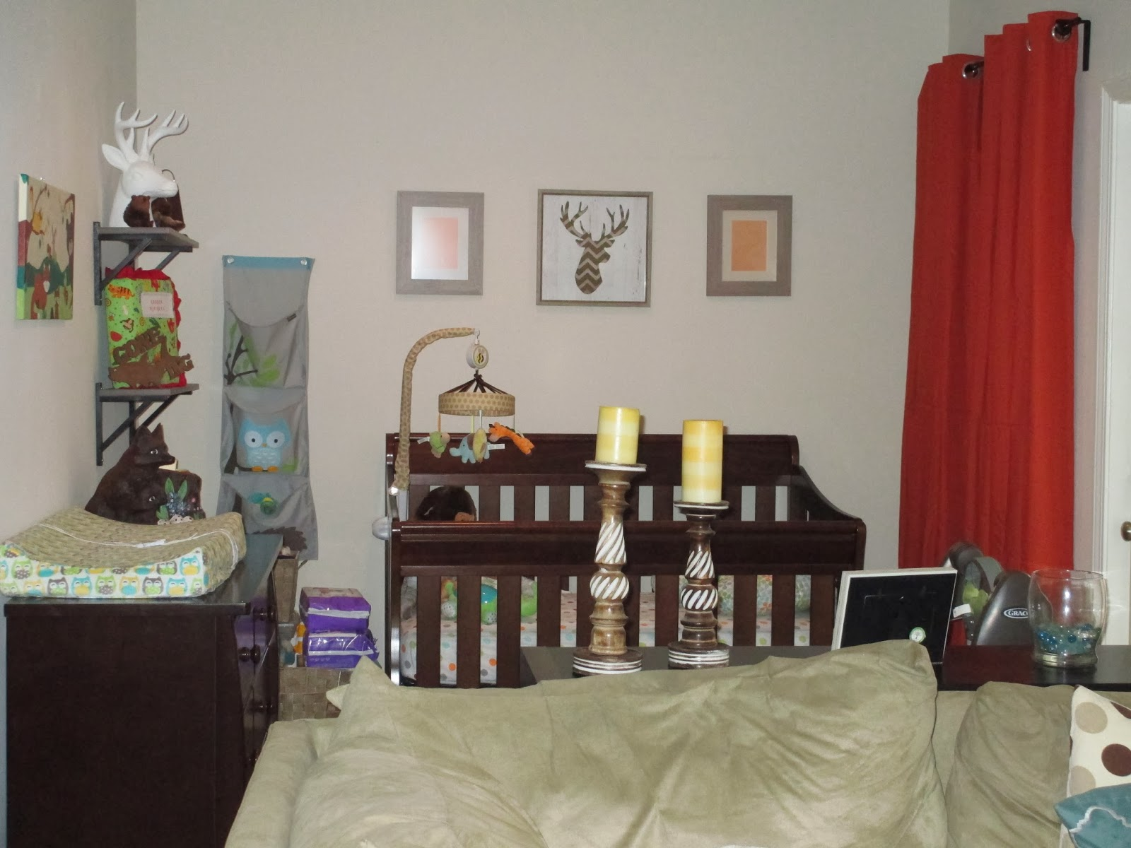 High Waisted Ambitions Dining Room Turned Nursery One