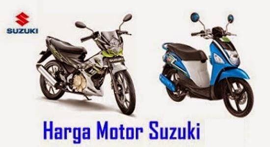 Daftar Harga Motor Suzuki Terbaru 2016