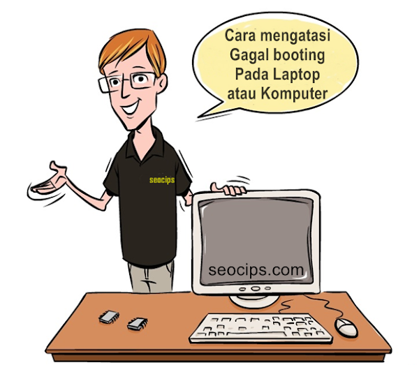 Cara mengatasi Bootloop Atau Gagal booting Pada Laptop Komputer