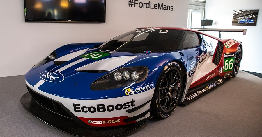 Ford Chip Ganassi Racing 2016 FIA WEC drivers announced ...