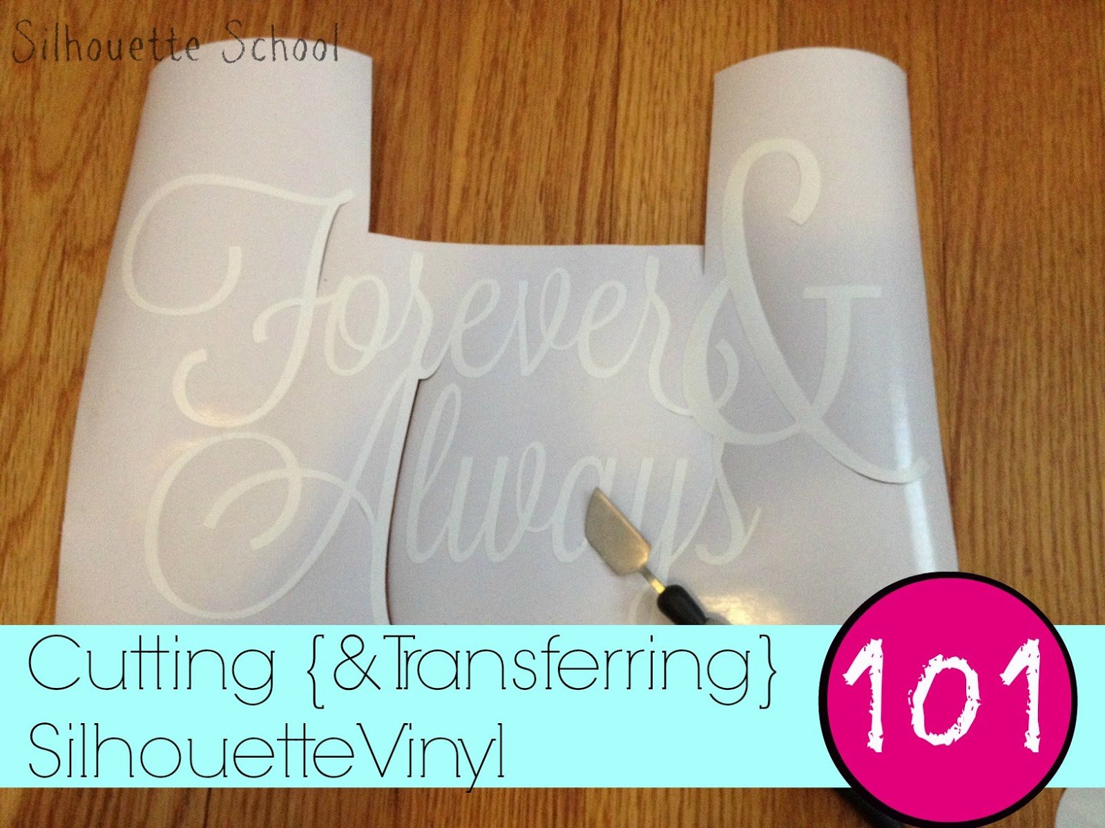 Cutting Vinyl With Silhouette CAMEO For Beginners Silhouette School - How to make vinyl decals with silhouette cameo