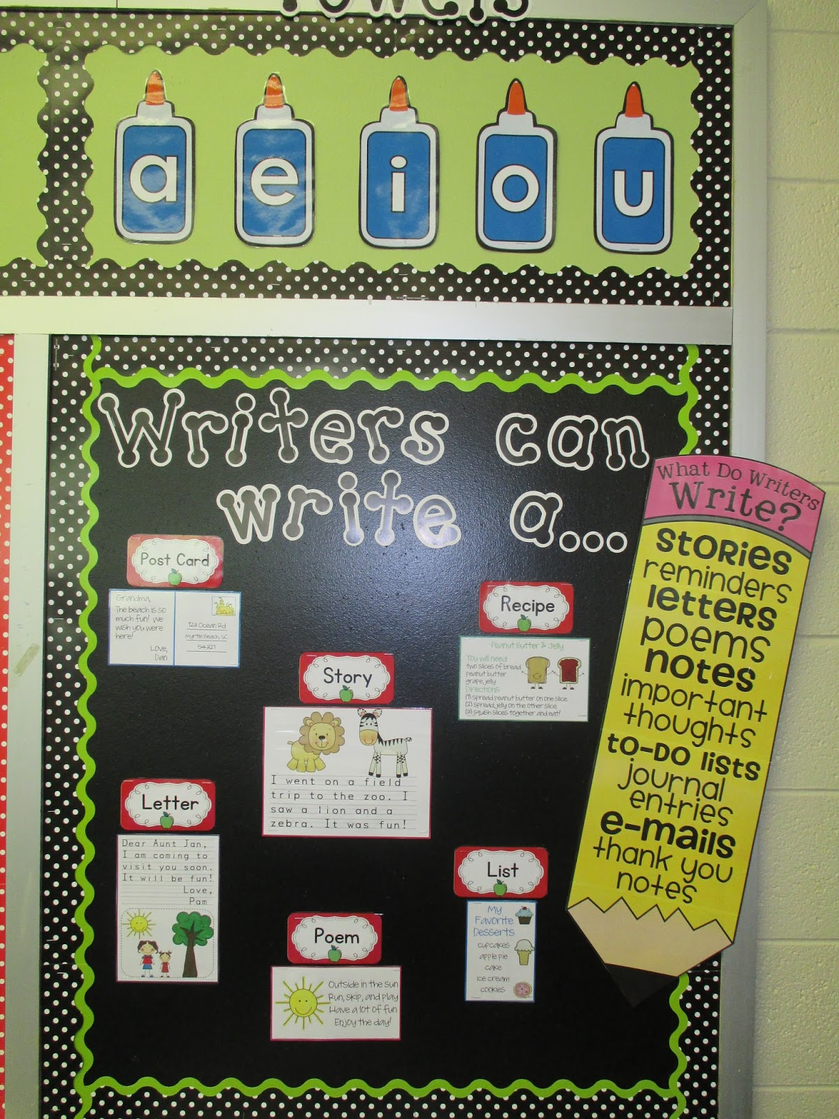 Classroom Writing Ideas ~ Tales of a teacherista my classroom