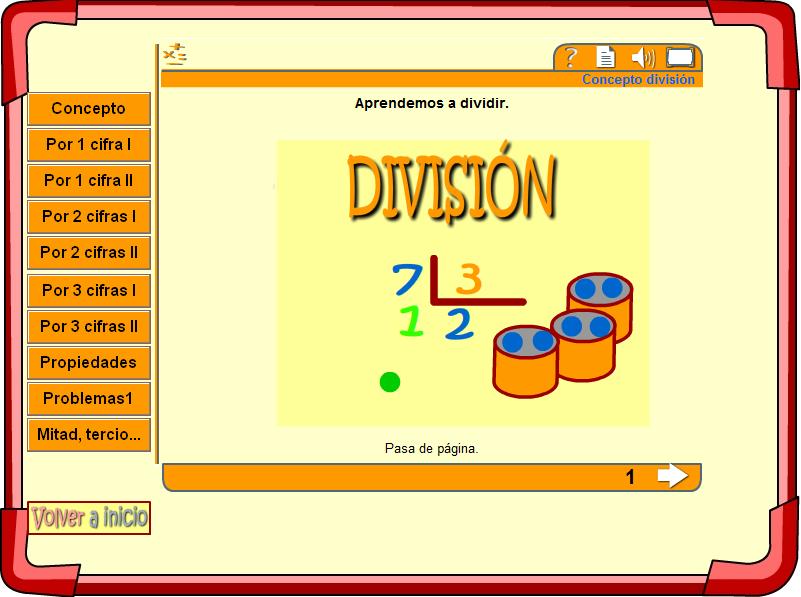 http://cerezo.pntic.mec.es/maria8/bimates/operaciones/division/concepto.html