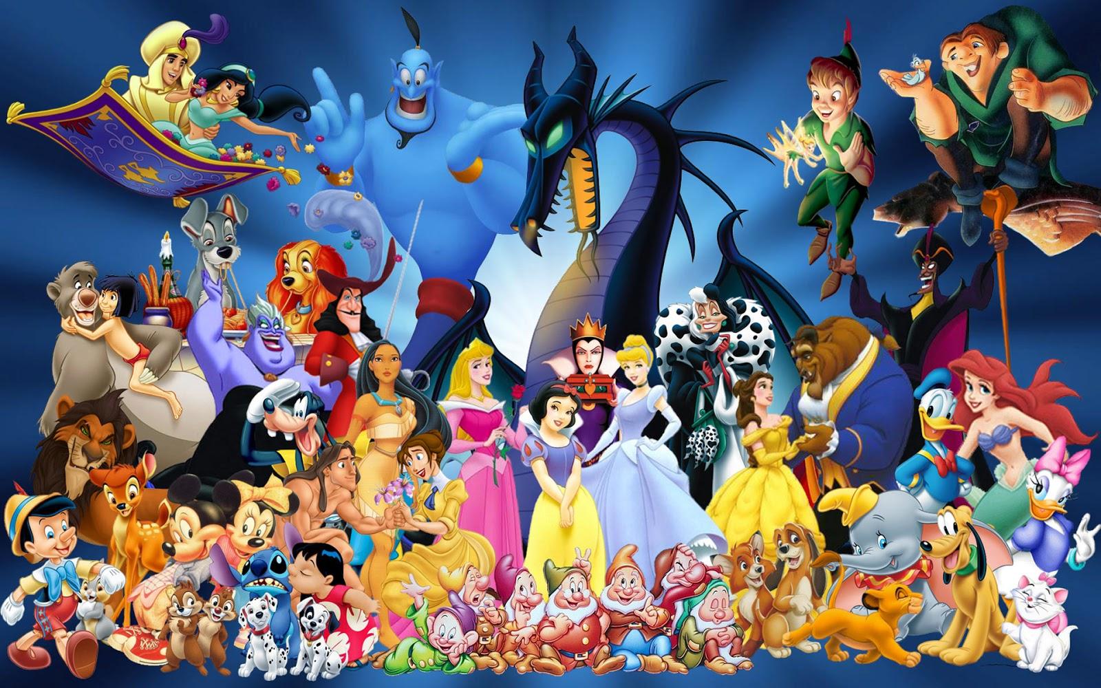 coletânea de desenhos animados