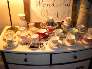 demo hoarder house junk tea cup sets