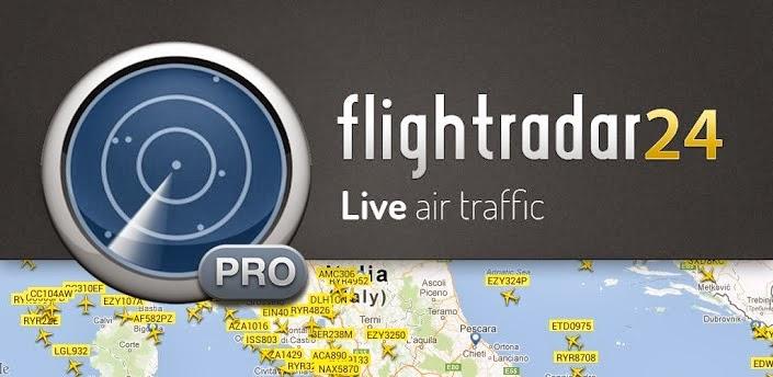 Clique aqui e veja o tráfego aéreo em tempo real.