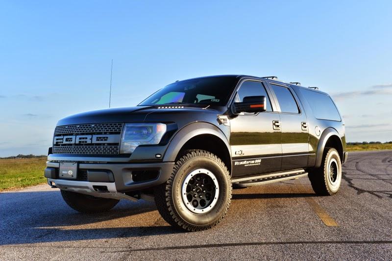 VelociRaptor 600 Supercharged SUV Based on Ford F 150 SVT Raptor