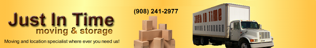 Just In Time Moving - Local and Long Distance NJ Movers- NJ Moving Company