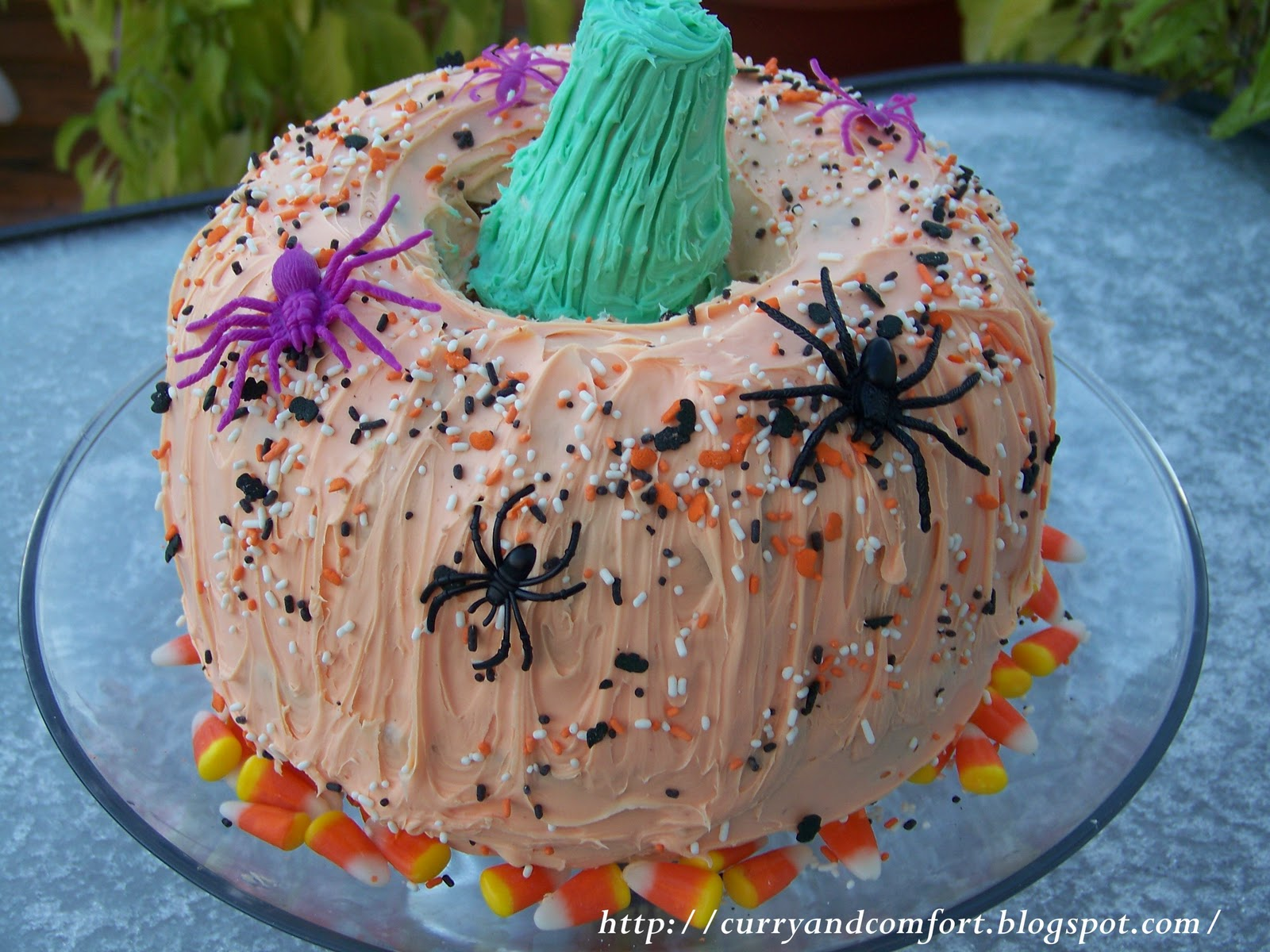 how to make pumpkin cake with real pumpkin