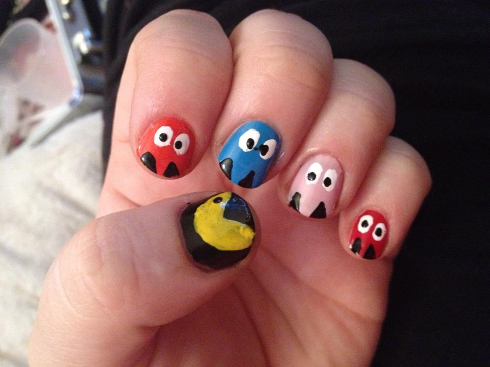 Katie talks december 2012 for now ill share a few of the designs which ive done this week including christmas pacman and the latest ones for new years eve solutioingenieria Choice Image