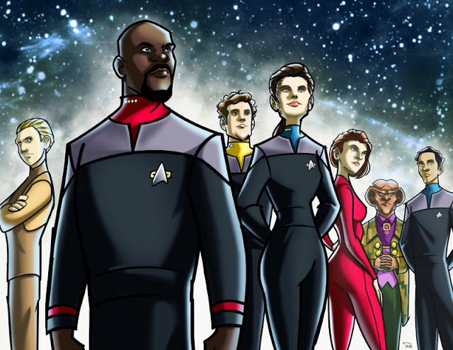 Star Trek: Deep Space Nine by Ray Ocampo