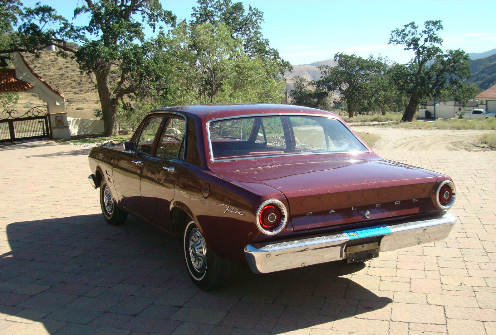 all american classic cars 1967 ford falcon 4door sedan