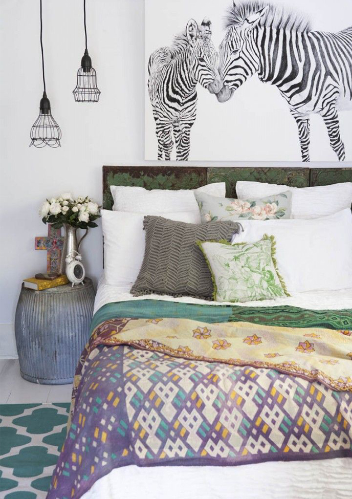 Lovers of mint blog d co boh me et cool lifestyle for Chambre ethnique