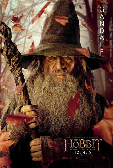 the hobbit, character poster, gandalf