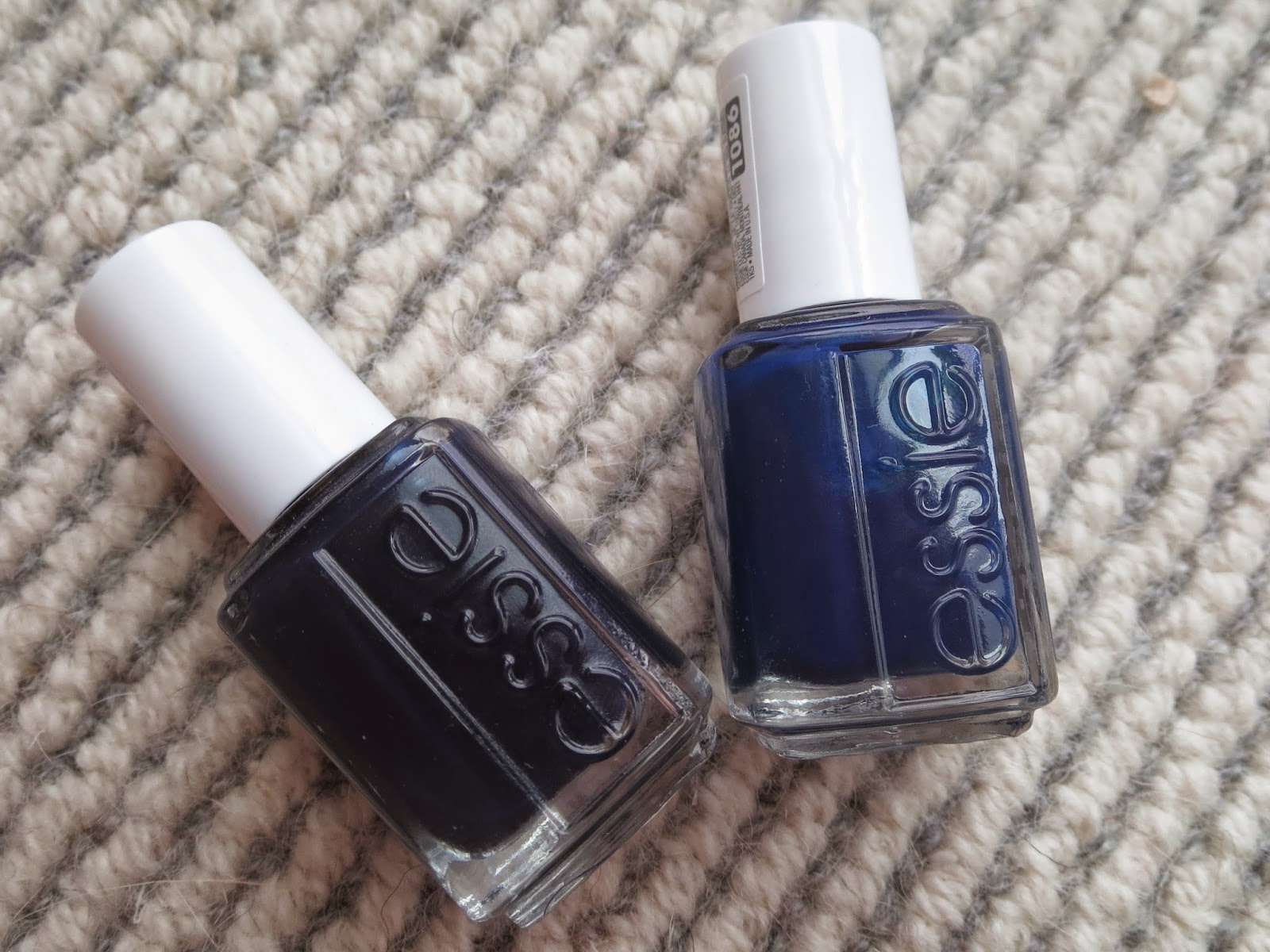 a picture of Essie's After School Boy Blazer and Style Cartel nail polishes