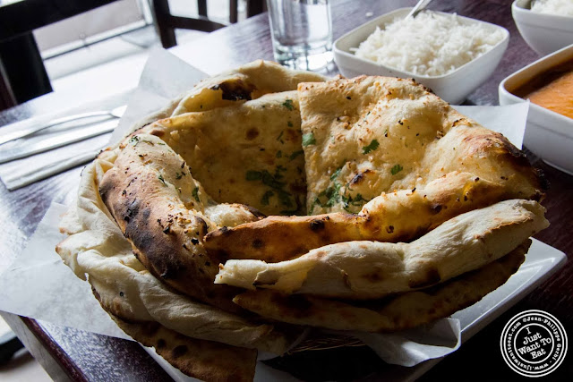 image of Naan basket at The Masala Wala in NYC, New York