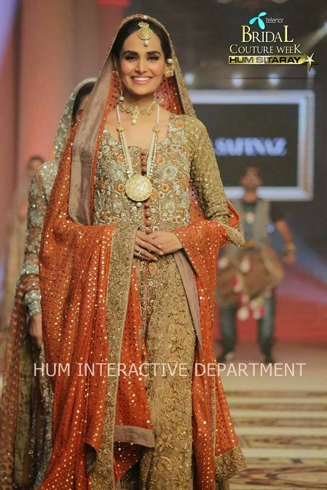 bridal Dress, Pakistani Bridal Dress, 2015.