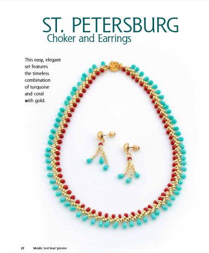 book review metallic seed bead splendor the beading