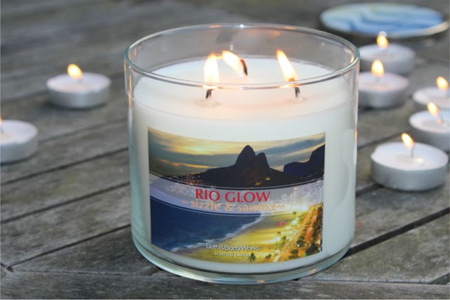 Bath and Body Works Rio Glow Candle