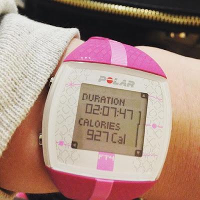 Polar FT4 watch