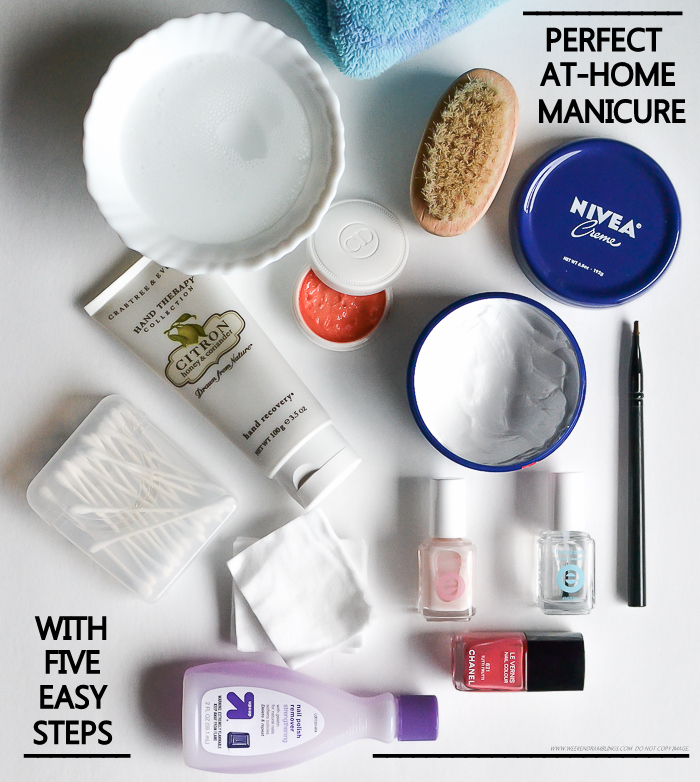 5 Easy Steps to the Perfect DIY Pampering At-Home Manicure