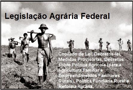Legislação Agrária Federal