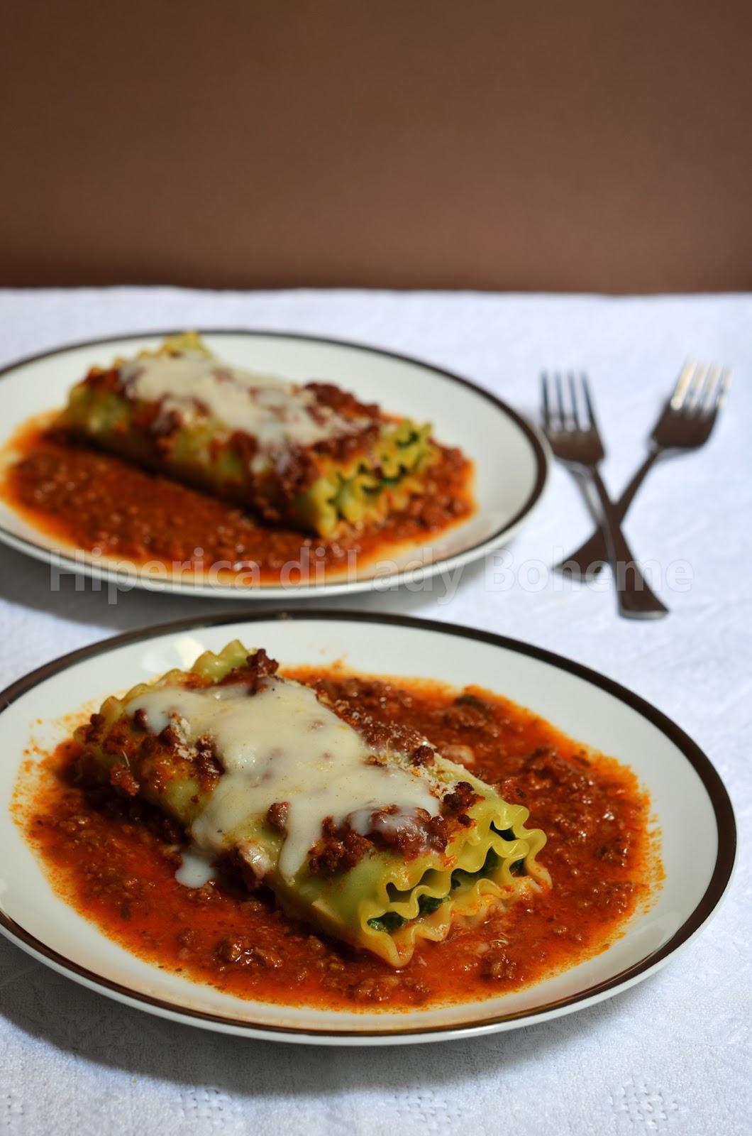hiperica_lady_boheme_blog_di_cucina_ricette_gustose_facili_veloci_lasagna_riccia_arrotolata_con_ricotta_e_spinaci_2
