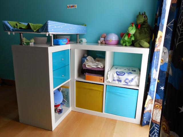Un cambiador infantil con expedit mi llave allen for Ikea mueble infantil