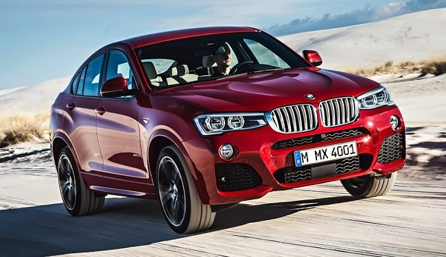 2015 BMW X4 officially revealed