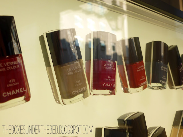Chanel Frenzy and Suspicious Le Vernis