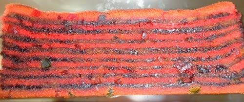 cara membuat Kek Lapis Strawberi Coklat, resepi kek 2014, resepi kek 2015, kek Raya Aidilfitri 2014, kek Syawal Raya, kek Ramadhan