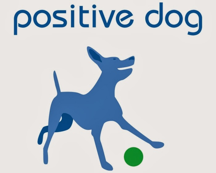 positive dog logo