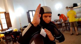 Un astronauta Ninja in un video ESA su CAVES 2012