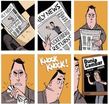 komik lucu facebook